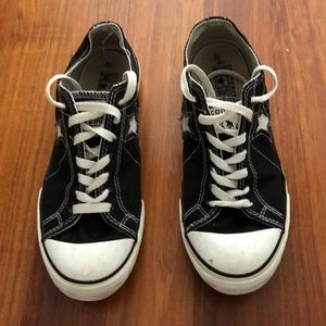 Converse Women's One Star Black Sneakers